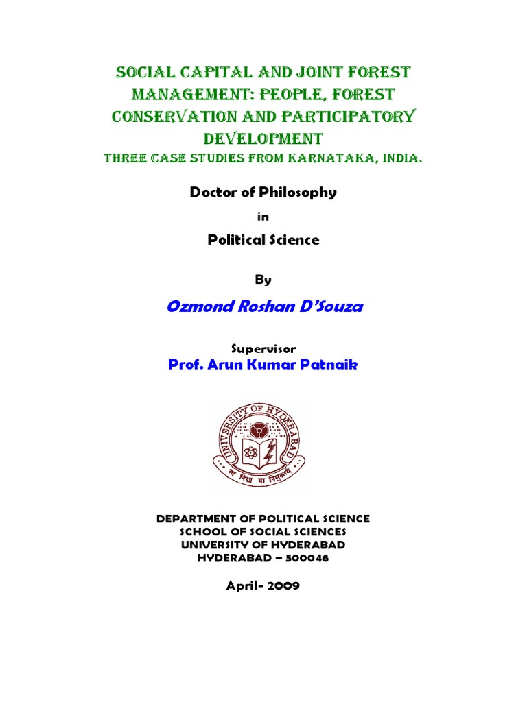 Social Work thesis and dissertation collection
