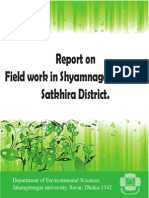 Report on Field work in Shyamnagar Upazila, Satkhira District