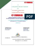 Project on YAMAHA