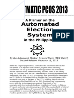 AES Watch Primer on Automated Election System AES
