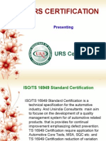 ISO TS 16949 Standard Certification - Automotive Supply Chain Requirements