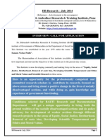 HR Research - July 2014