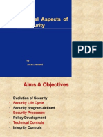 Organizational Aspects of Network Security