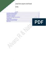 Manual Usuario Excel