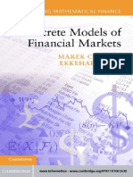 Discrete Models of Financial Markets