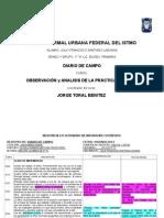 Diario de Campo-segundo Semestre