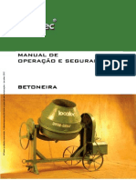 Manual de Betoneira