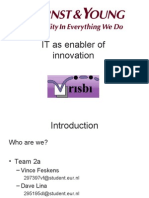 IT as enabler of innovation