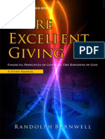 Excellent Giving - Kingdom Economics