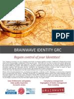 2013 Brainwave Brochure IdentityGRC en.0.7