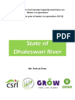 State of Dhaleswari River