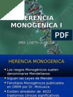 HERENCIA MONOGENICA I VI Semestre