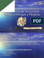 Mecanismo de Inmunidad Frente a Hongos y Parásito