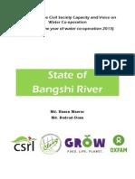 State of Bangshi River