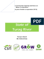 State of Turag River