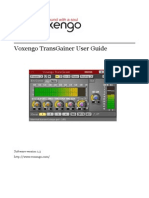 Voxengo TransGainer User Guide En