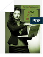 Daily Equity Report 25July by CapitalParamount