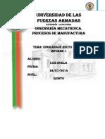 Engranaje Recto - Informe