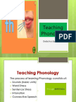 Teaching Phonology