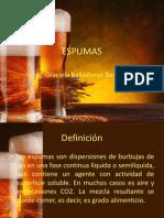 Espumas_Presentación