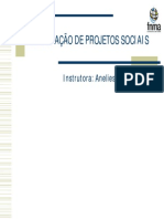 Elaboração de Projetos Sociais