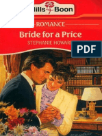 142563060 Bride for a Price by Stephanie Howard