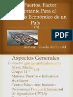 los puertos factor importante para el desarrollo
