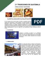 Costumbres y Tradiciones de Guatemala 2014