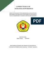 (Program KIA Di Puskesmas) - Badzli Achmad