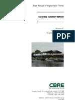 Technical Pack > Building Survey and EPC Certificates > Ravens Ait Building Survey June 09