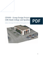 Report - Building Science Capstone Project - CIBC Bank Retrofit