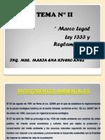 Tema 2 La Ley 1333 y Reglamentos