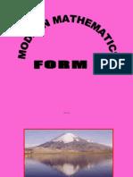 Math(F5)- Transformation III