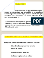 Tema 4 Contaminación de Las Aguas, Suelos y Atmósfera(CAPIA)