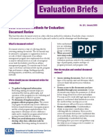 Data Collection Methods for Evaluation