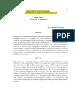 Razon Geométrica vs Razón Dialéctica Goncal Mayos