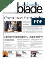 Washingtonblade.com, Volume 45, Issue 30, July 25, 2014