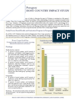 Peace Corps Paraguay Study Summary