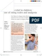 Acute Pain Relief in Children