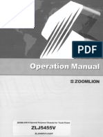 QY70V Chassis Operation Manual