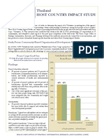 Peace Corps Thailand CBOD Study Summary