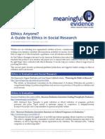 Ethics Anyone