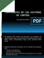 Componentes de Sistemas de Control 4