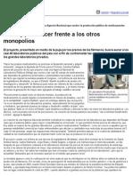 Página_12 __ El País __ Una Ley Para Hacer Frente a Los Otros Monopolios