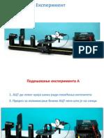 Eksperiment spektrofotometar