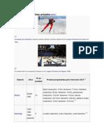 Deportes y Disciplinas Actuales