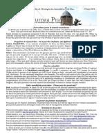 Bulletin de Jumaa Prayer 25 July14