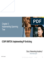 Chapter 3 - Implementing Spanning Tree
