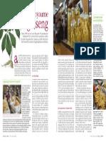Au royaume de ginseng - Plantes & Santé - Juillet/Août 2014