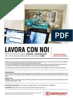 LAVORA CON NOI - Cardiologi e Cardioanestesisti (Sudan - 2014)